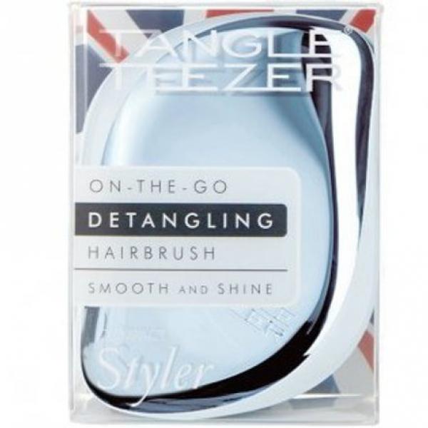 Расческа Tangle Teezer Compact Styler Sky Blue Delight Chrome