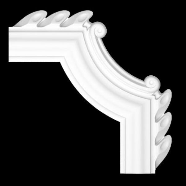 Лепнина - Настенно-потолочные плинтуса, уголки и накладки LUX