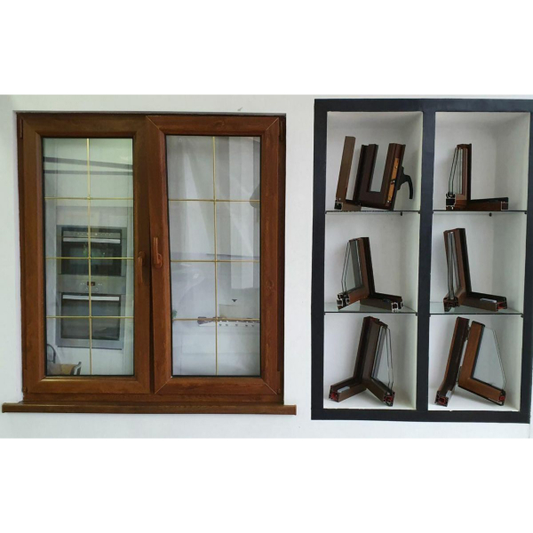 ПВХ Оконные и дверные блоки белого цвета