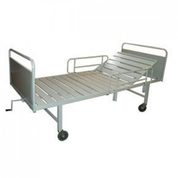 Кровать функциональная (односекционная, модель «КФР-1», с ручным подъёмом)
