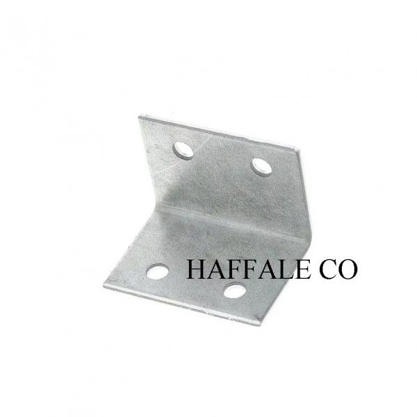 Уголок мебельный двойной металлический HAF 19х19x22 мм