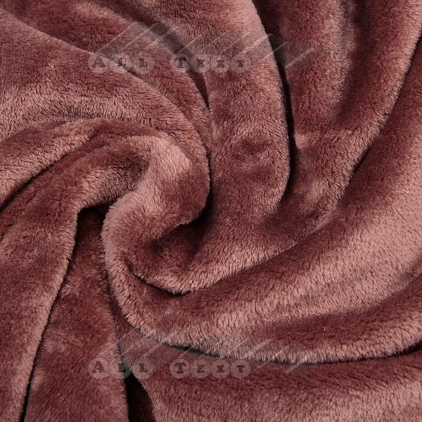 Велюровое полотенце, однотонное 70х140