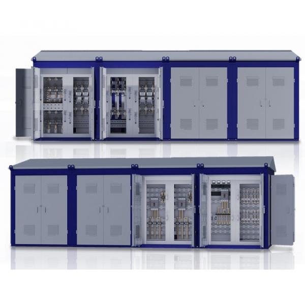 Комплектные трансформаторные подстанции блочные типа КТПБ, 2КТПБ на напряжение 35, 110 kV
