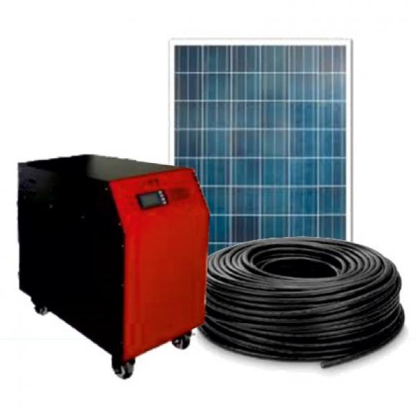 Готовая мини-солнечная фотоэлектрическая система 150-300 Ватт