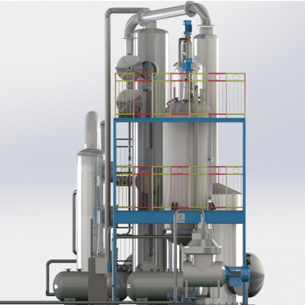 Оборудование для рафинации технического жира и масла, пищевого и животного жира, растительного масла