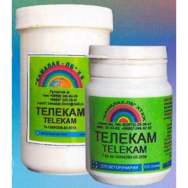 Телекам - комплексный препарат для ветеринарии, сильно действующий на ткань микробов