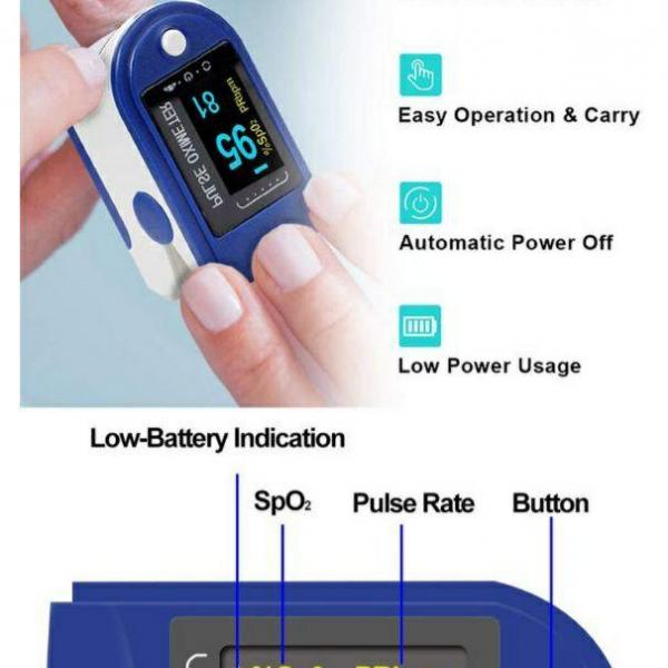 Пульсоксиметр, Pulsoksimetr, PulseOximeter