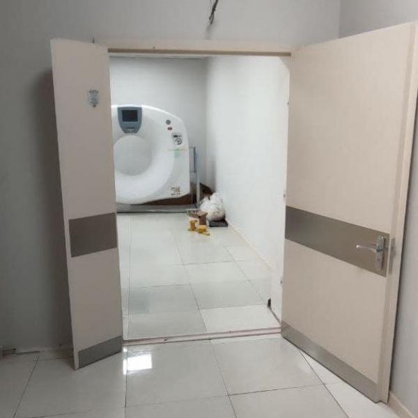 Дверь для рентген и мскт кабинетов 1200-2100 мм