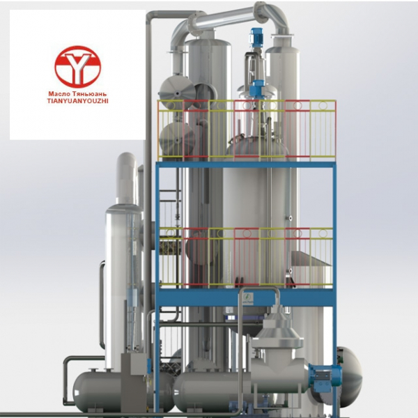 Оборудование для рафинации растительного масла, пищевого, технического и кормового животного жира