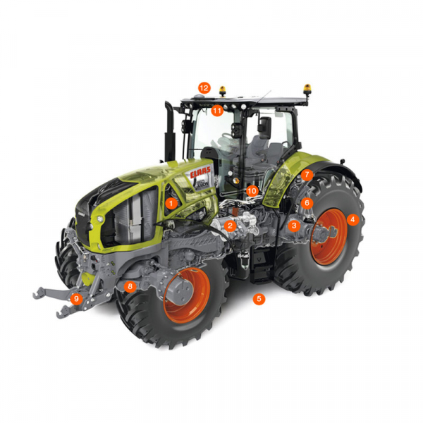 Тракторы CLAAS | AXION 950-920