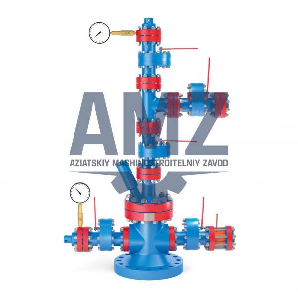 Фонтанная арматура AMZ для газовых и нефтяных скважин