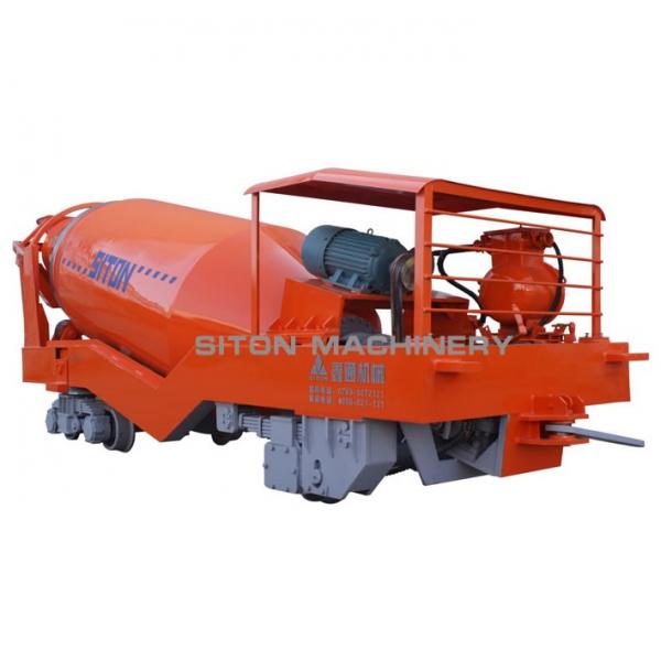 Передвижной бетоносмеситель (шахтный)