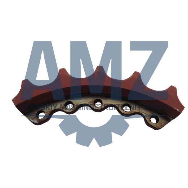 Сектор зубчатый на бульдозер AMZ Т11.01 1101-19-14