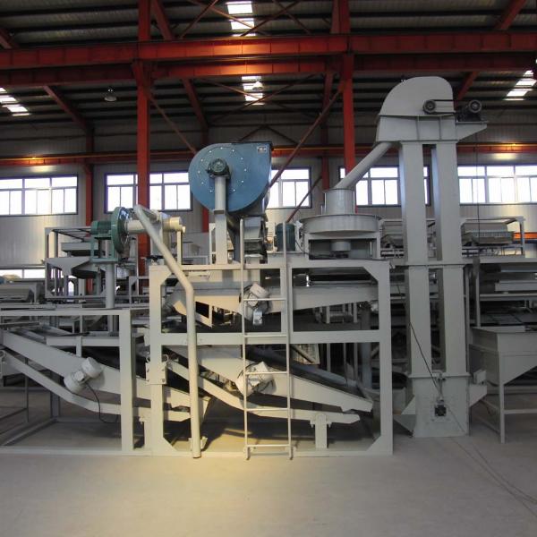 Оборудование для шелушения и сепарации овса TFYM-1000