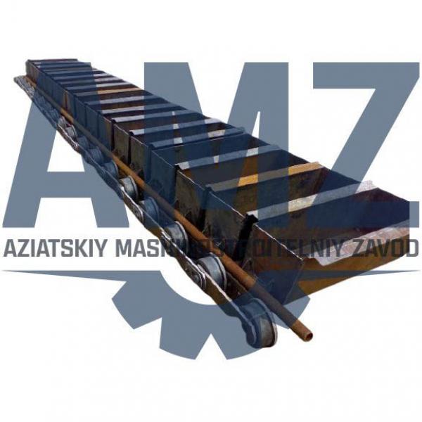 Транспортер ковшевой ПКО-3552 СБ для непрерывной транспортировки грузов на определенную высоту