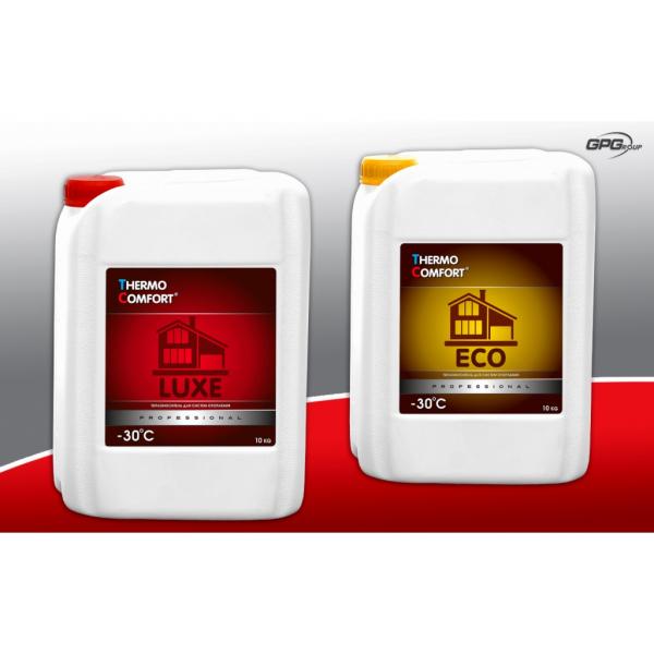 Теплоносители серии Thermo Comfort для использования в системах отопления с замкнутым контуром