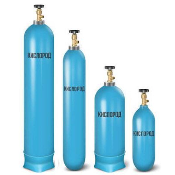 Кислород газообразный технический в баллонах