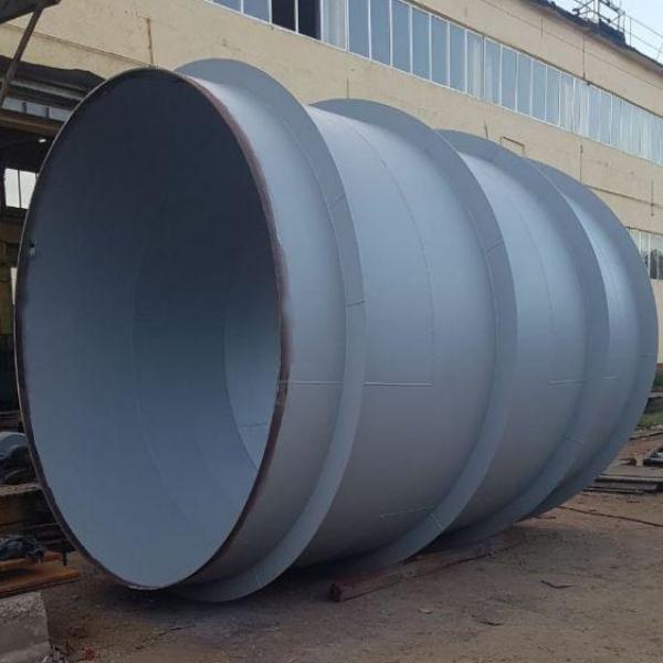 Трубы сварные прямошовные диаметром 450-6500мм