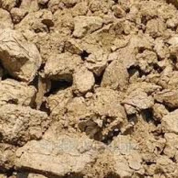 Бентонитовая глина комовая