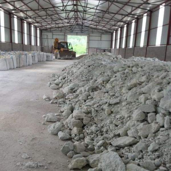 Комовая бентонитовая глина обработанная 1-50 мм