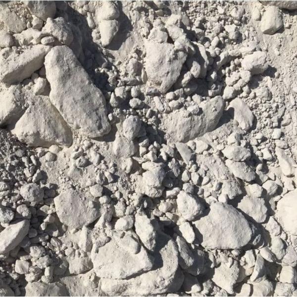 Доломит (CaCO3-MgCO3 - 97%) для стекольной литиевой сельской промышленности (комовой)