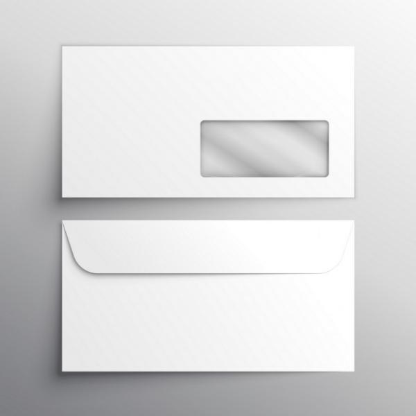 Конверт с логотипом