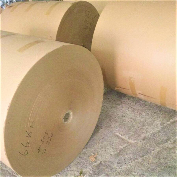 Крафт бумага целлюлозный бурый 100 гр/м2