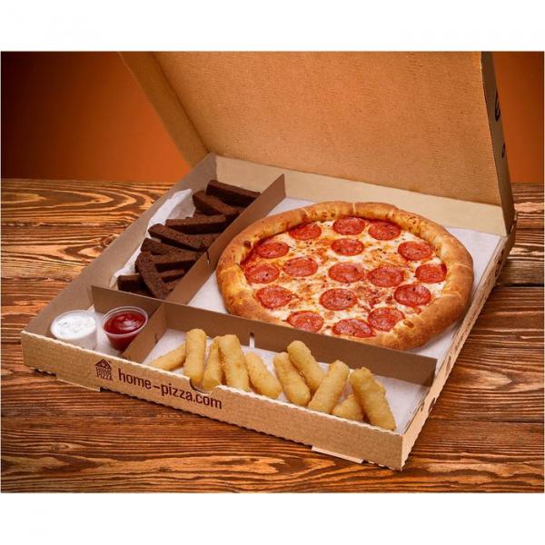 Коробки для пиццы 250*250*40 мм.