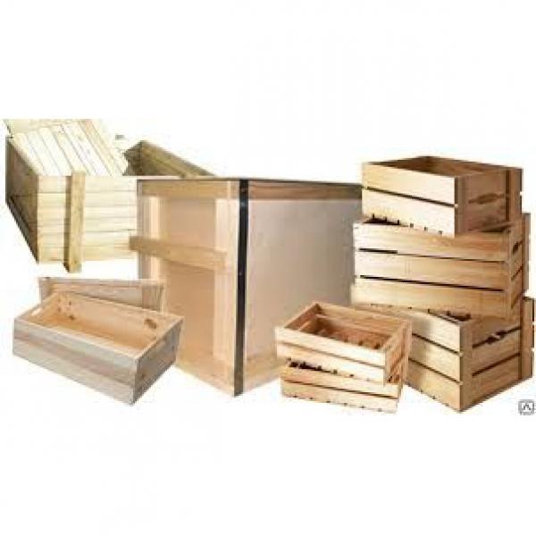 Ящик деревянный ( хвойных пород , фумигированный ) 600*390*280 ( для отгрузки теллура технического  )