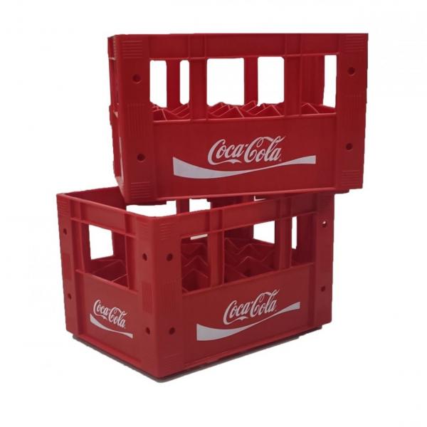 Ящики полимерные многооборотные для бутылок с пищевыми жидкостями