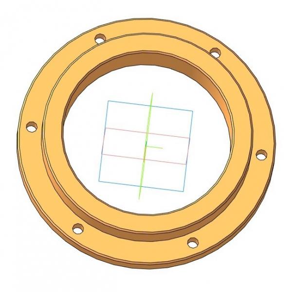 Лабиринтное уплотнение 138×100×16
