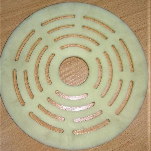 Пластина клапана Ø 127×4 мм