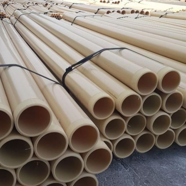 Непластифицированые поливинилхлоридные трубы (НПВХ) Ø195х14,5мм.