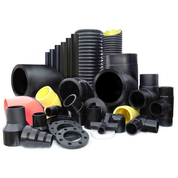 Высоконапорные трубы и комплектующие из полиэтилена