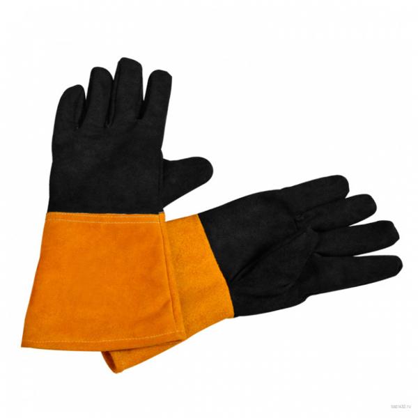 Перчатки краги пятипалые (для сварочных работ)