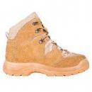 Ботинки со средними берцами, верх обуви: натуральная замша, подкладка: обувной материал
