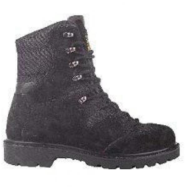 Ботинки с высокими берцами T-924, натуральная замша, подкладка: обувной материал