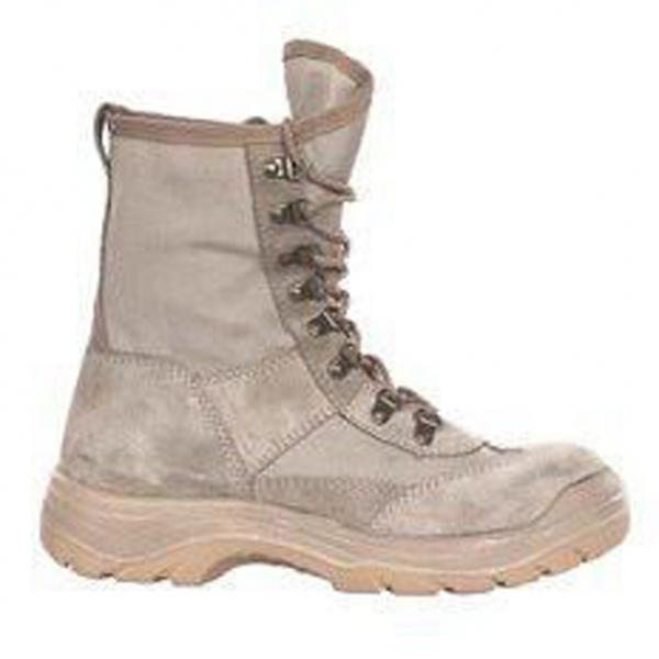 Ботинки с высокими берцами M-935, верх обуви: натуральная замша, подкладка: обувной материал