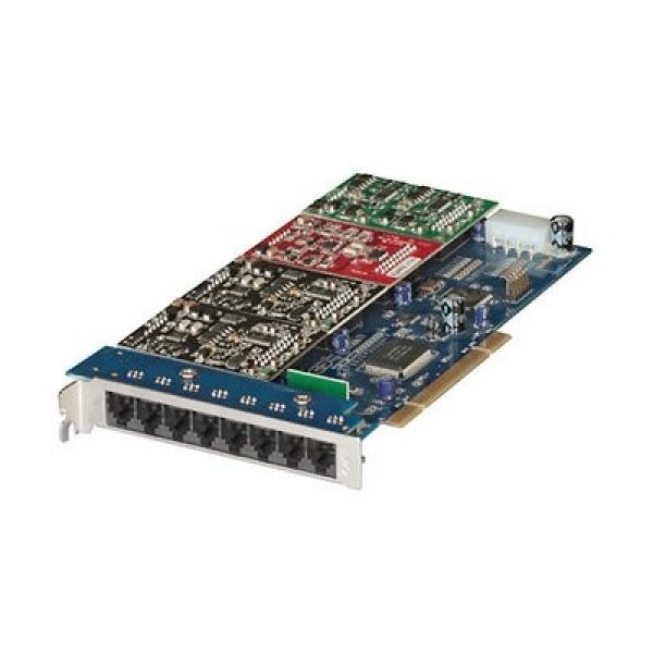 Комбинированный модуль на 4 FXO и 4 FXS порта для IP-АТС X8004