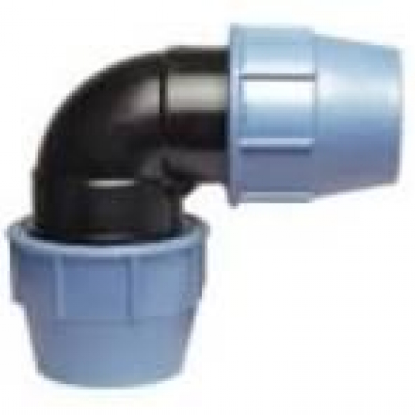 Отводы ПЭ муфта компрессные 90 град д,-76 мм