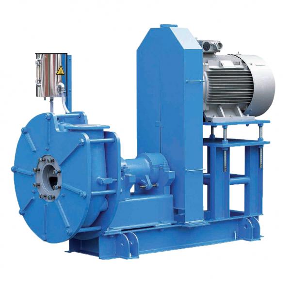 Насосный агрегат MFC80/325 A45 с проточной частью из минерального литья