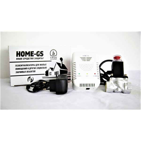 HOME-GS1 бытовой газоанализатор без аккумулятора (клапан DN/20)