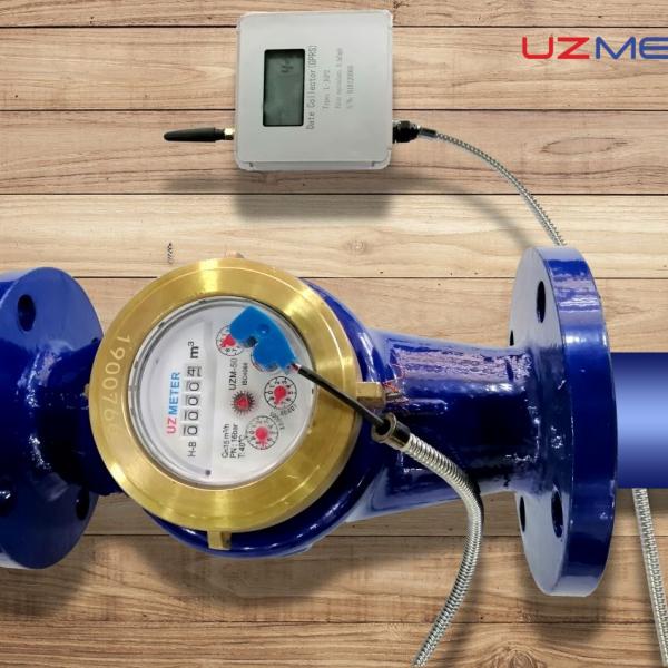 Счетчик 300, беспроводной промышленный измеритель воды AMR GPRS