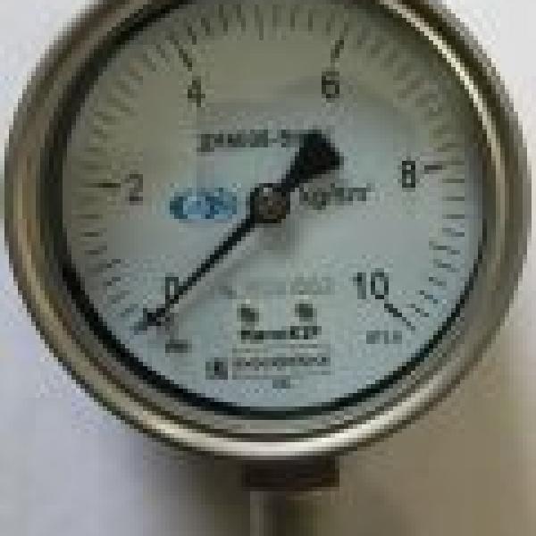 Манометр Глицерин ДА8008-Вум Кс 0-60кгс/см² или 0-6 МПа (диаметр 100мм)