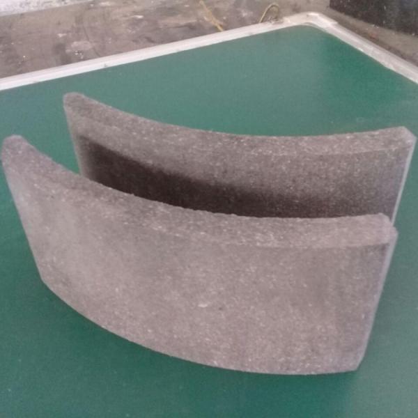 Накладки тормозные барабанных механизмов для БЭЛАЗ 549 А-3507020/548-3501105сб