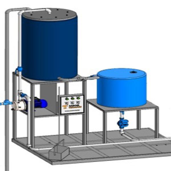 Автомойка оборотного водоснабжения для очистки воды от мелких механических примесей