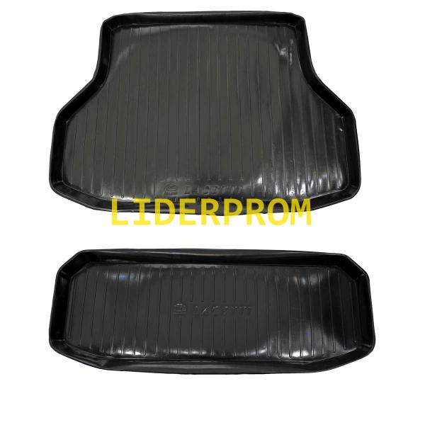 Автомобильные задние полимерные коврики и полики