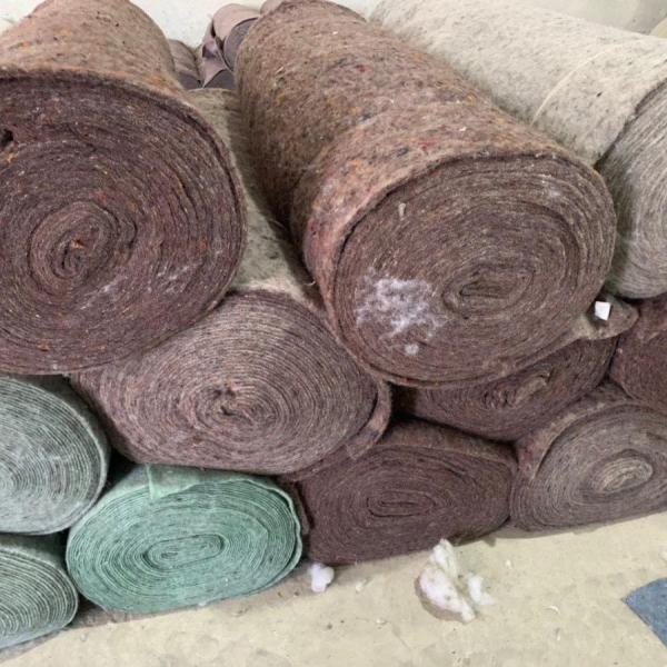 Ватин иглопробивной - плотность 280 гр/м2, 100% синтетическое волокно