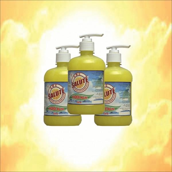 Мыло жидкое «SALUTE»